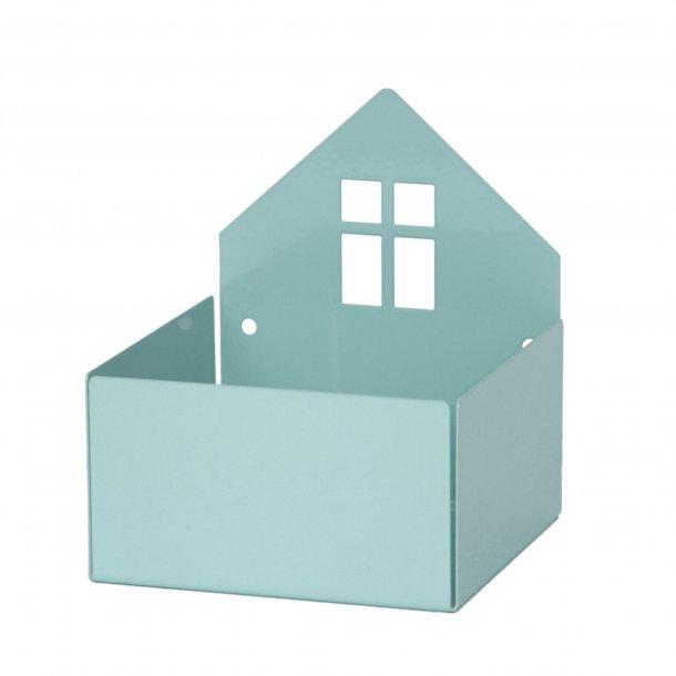 HOUSE BOX pastel blå